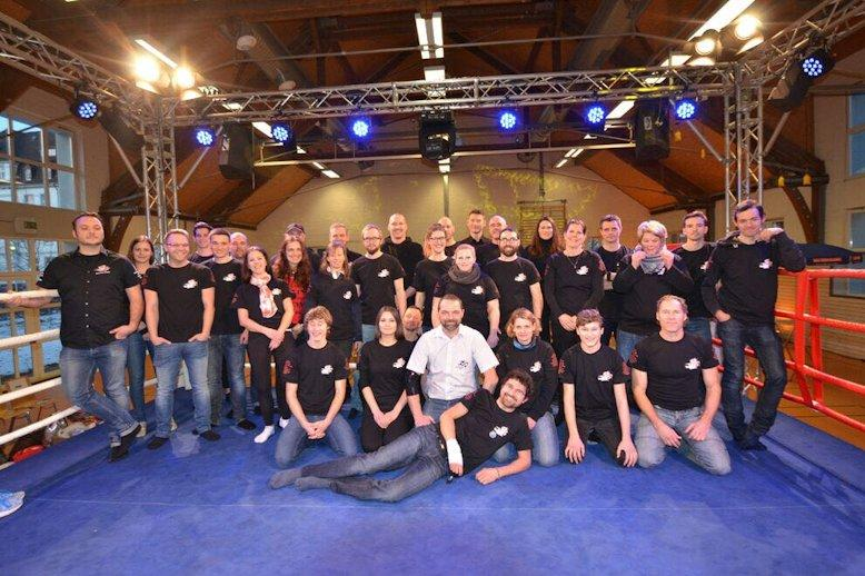 Das Helferteam der Fight Night Konstanz
